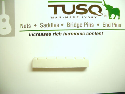 Graph Tech Tusq Nut slotted weiß G-Style Sattel