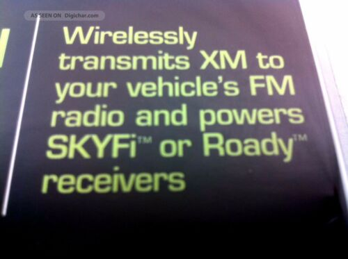 Delphi SkyFi Roady UNIVERSAL AUDIO ADAPTER Wireless FM Transmitter SA10081