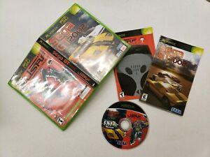 Sega-GT-2002-JSRF-Combo-Jetset-Radio-Future-Pack-XBox-Microsoft-COMPLETE