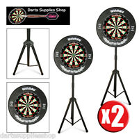 The Darts Caddy, Portable Dartboard Stand For The Serious Darts Player X 2