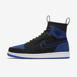 fc4fa32173cac4 New Men s Air Jordan 1 Retro Ultra High Shoes (844700-007) Black ...