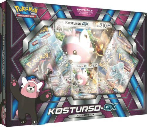 Pokémon Box: Kosturso-GX Kollektion * Deutsche Version Pokemon DE