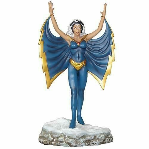 Storm X-men Marvel Heroes 1 12 Escala Estatua De Metal Pintado a Mano Ltd Edt