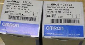 Industrial Automation & Motion Controls 1PC New In Box OMRON E5CS ...