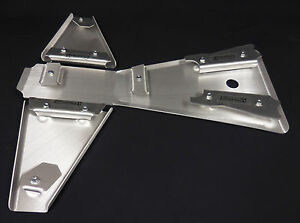 YAMAHA-BLASTER-200-FRAME-SKID-amp-A-ARM-SKID-PLATE-SET-125-BELLY-PAN-AARM-GUARDS