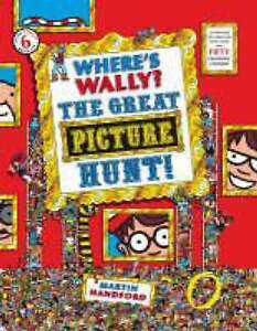 Where-039-s-Wally-The-Great-Picture-Hunt-Handford-Martin-Very-Good-Book
