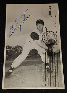 Amazing Details About 1962 Elroy Face Pittsburgh Pirates Mlb Autographed Postcard Original Squirreltailoven Fun Painted Chair Ideas Images Squirreltailovenorg