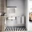 miniatura 4 - Unterfahrbare Waschtisch für barrierefreies Bad 65 x 55 cm groß mit Überlauf