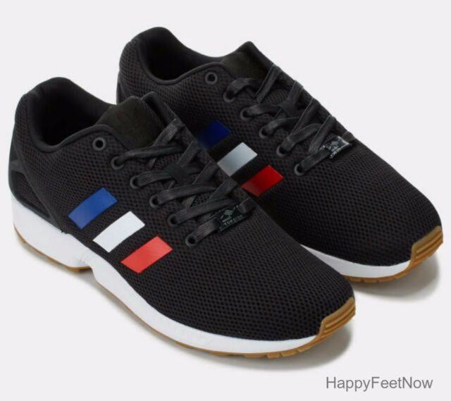 b9590bece6d adidas Originals ZX Flux Running Shoes Men's Size US 10 Black ...