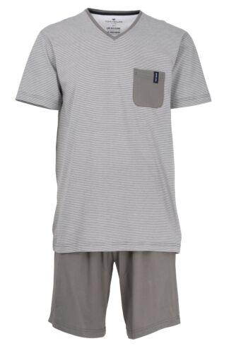 Tom Tailor Herren Schlafanzug Pyjama Shorty Baumwolle 70984 812