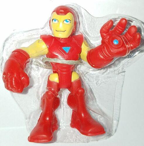 "PlaySkool Heroes IRON MAN 2.5/"" Action Figure Marvel Adventures Super Hero Squad"