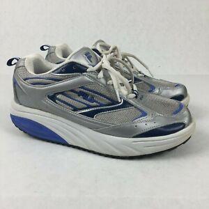 sophisticated technologies choose latest innovative design Details about FILA Sculpt-N-Tone 1285 Grey/Blue Shape Up Shoes Lace Up  Womens Sz 9.5
