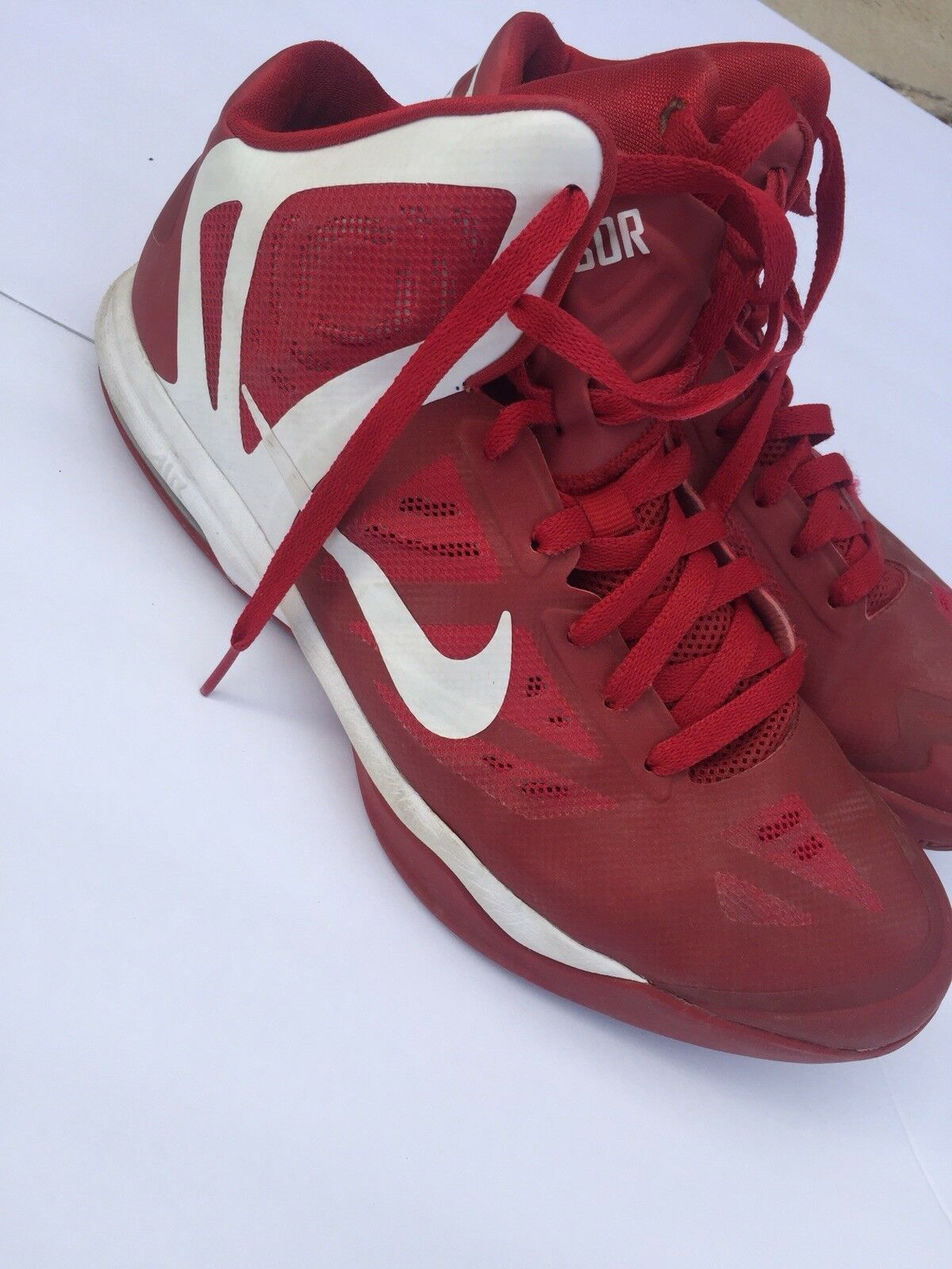Mens Nike Air max hyper aggressor RED  The most popular shoes for men and women