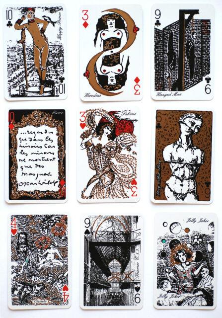 1986'THE OSCAR WILDE' p/cards. Monte Carlo.Artist: ROSITA FANTO/RICHARD ELLMANN