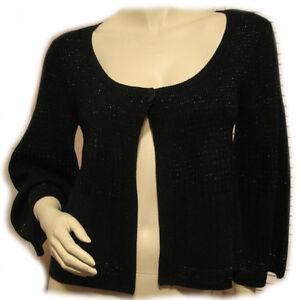 NINE WEST Black Cardigan Sweater Shrug Bolero Jacket Shrugs Sweaters For  Women S | eBay