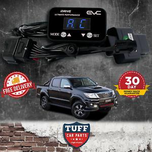 Toyota Hilux KUN26 2005 - 2015 iDrive Black EVC WindBooster Throttle Controller