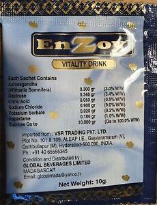 EnZoy vitality 10 gr x 15 sachets Péremption  05/2023 (enveloppe)