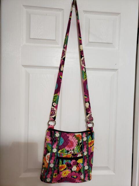 Vera Bradley Hipster Crossbody bag PRETTY FLORAL PURSE