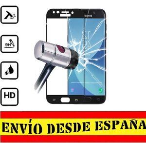 Protector-Pantalla-COMPLETO-NEGRO-SAMSUNG-GALAXY-J3-2017-Cristal-Templado-0-33m