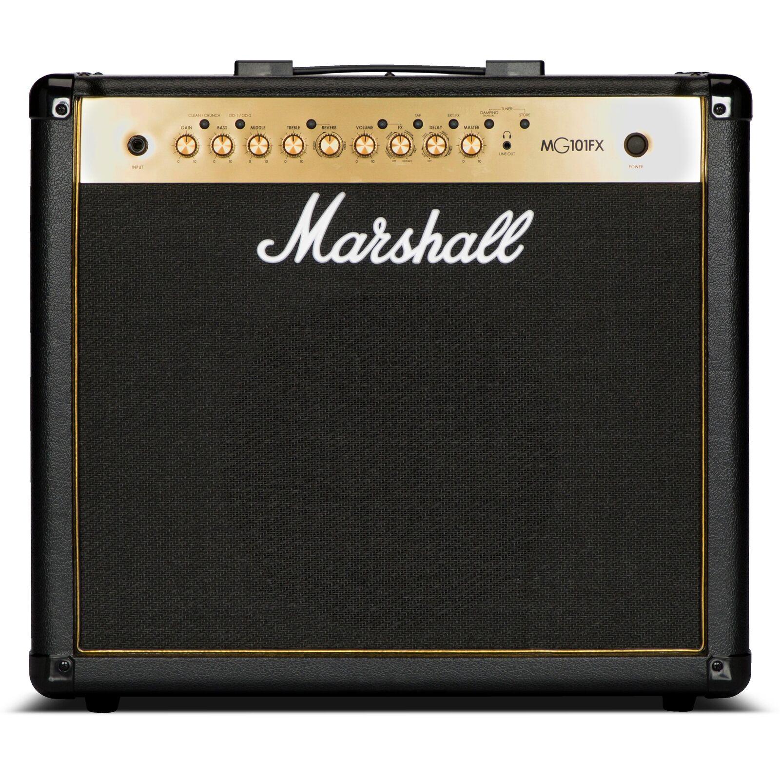 Combo Amp Guitarra Marshall MG101GFX MG101GFX MG101GFX 49ede5