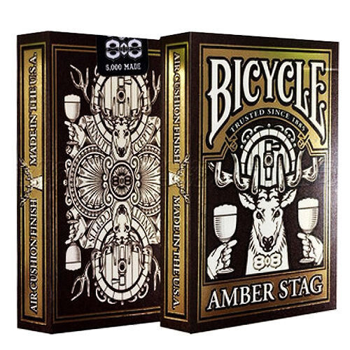 Carte Bicycle Amber Stag