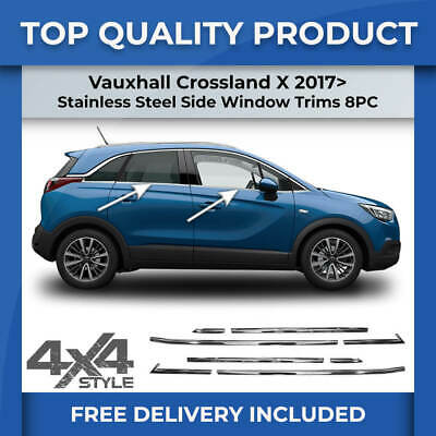 Set Car Shades compatible with Opel Crossland X 2017
