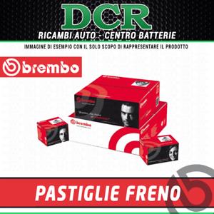 2.0 JTD 136CV 100KW DAL 08//2011 Kit pastiglie BREMBO P11025 FIAT FREEMONT 345/_