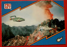 Thunderbirds PRO SET - Card #009, The Missions - Pro Set Inc 1992