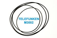 SET CINGHIE TELEFUNKEN M 3002 REGISTRATORE A BOBINE BOBINA NUOVE FRESCHE M3002