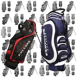 abcbb968 Details about NEW Team Golf Medalist Cart / Nassau Stand Bag NFL - Pick  Your Football Team!!