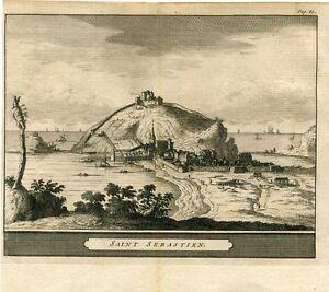 View-Saint-Sebastian-By-Pieter-Vander-Aa-1707