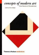 Concepts of Modern Art: From Fauvism to Portmodernism (World of Art)-ExLibrary