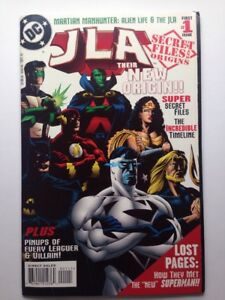 JLA-Secret-Files-amp-Origins-1-DC-Comics-1997-Justice-League-Superman-Batman-VF