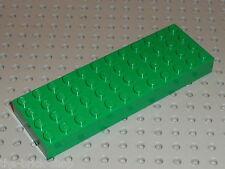 Plaque de base epaisse LEGO CASTLE green brick 4x12 ref 4202 /Set 8800 5986 6089