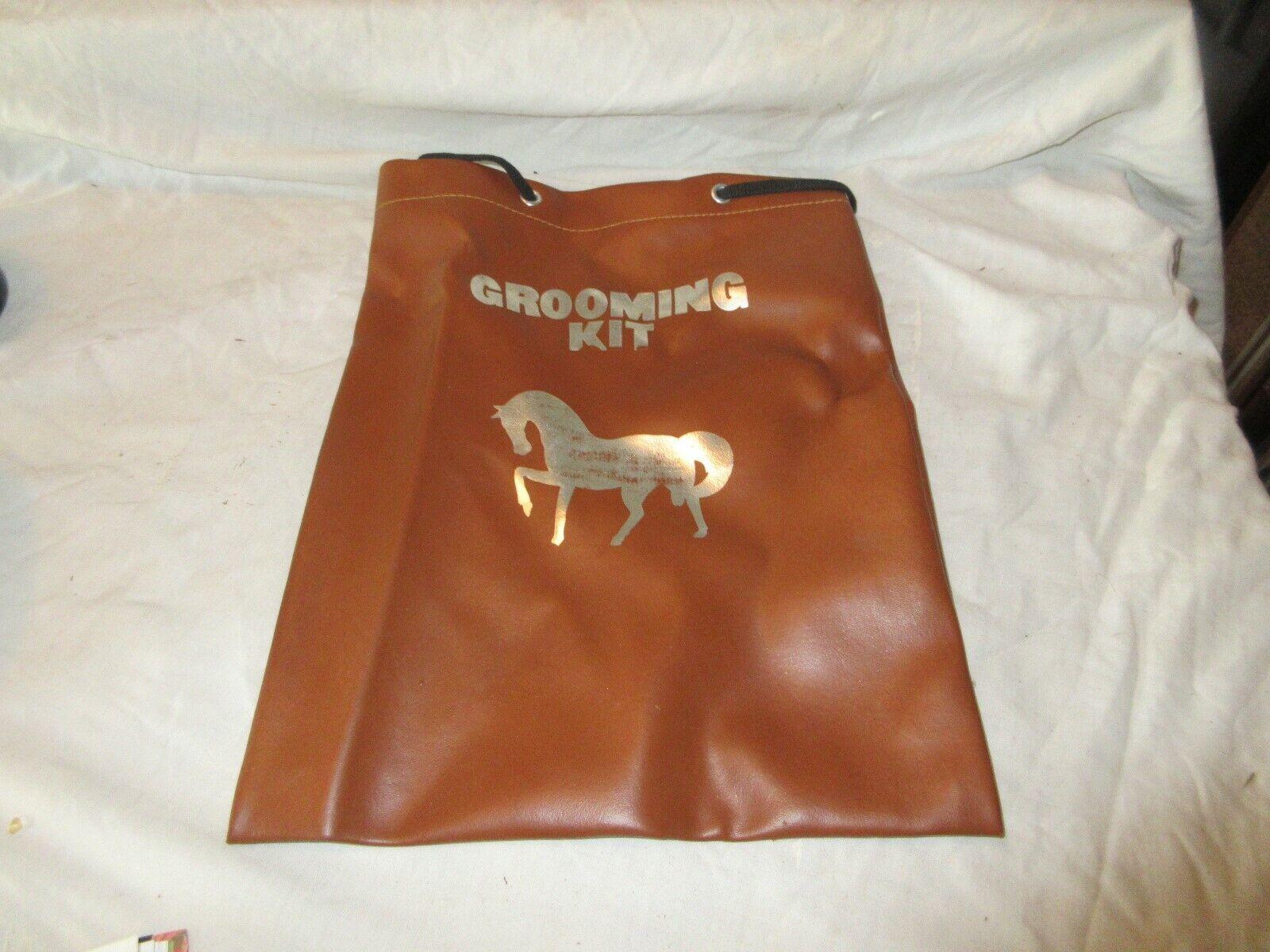 "Equestrian , Grooming Kit Bag , 10""X13"" , Riding Gear"