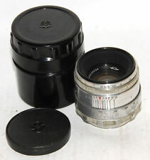 HELIOS-44  2/58mm lens  (13 blades ) for  old ZENIT M39 KMZ #0230534 cap