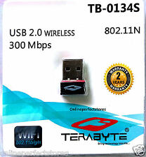 300 Mbps Mini USB WiFi Wireless Adapter Dongle Network LAN Card 802.11n/g/b