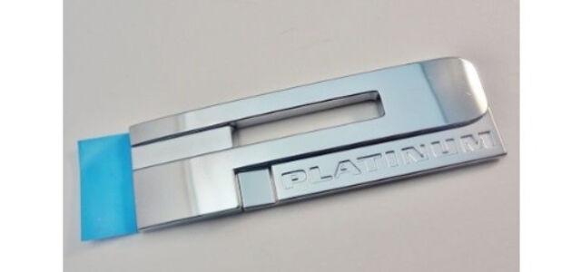 OEM NEW Rear Tailgate Emblem Nameplate Platinum Chrome 13-15 XTS 20971945