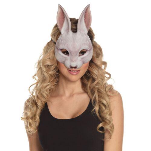 Adults Kids Easter Bugs White Rabbit Wonderland Bunny Fancy Dress Peter Eye Mask