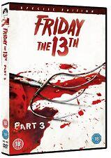 Friday The 13th: Part 3 [DVD] Dana Kimmell, Paul Kratka, Steve Miner Brand New