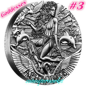Australia-2015-Goddesses-Of-Olympus-Aphrodite-2oz-Silver-High-Relief-Coin-Perth