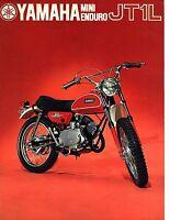 1971 Yamaha Mini Enduro Jt1l Factory Original Sales Brochure(reprint) $9.00