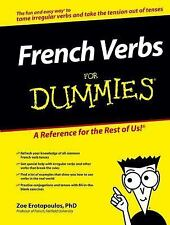 French Verbs For Dummies (For Dummies (Language & Literature))-ExLibrary