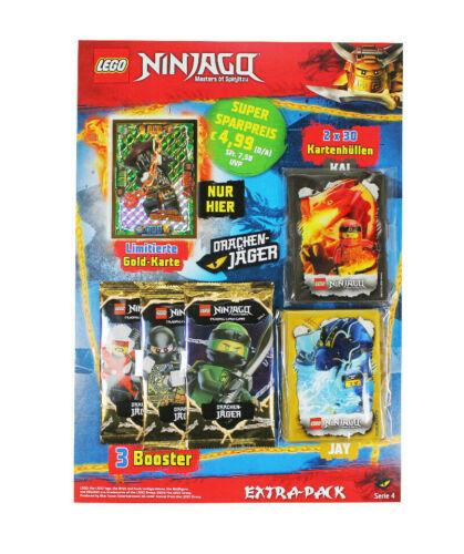 cartes enveloppes le Carte LEGO ® Ninjago série 4 trading card game Extra-Pack Booster