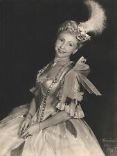 "MADELEINE RENAUD in ""Marlborough S' En Va-t- en Guerre"" HALFTONE PORTRAIT 1950"