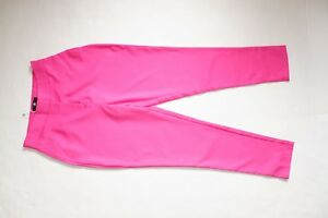 R-MISSGUIDED-BRIGHT-PINK-TROUSERS-UK-SIZE-10-BNWT