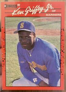 1990 Donruss KEN GRIFFEY JR Rookie #365 ERROR CARD No Period After Inc. RARE!