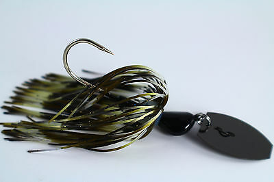 "/""HOT CRAW/"" CHOOSE MODEL /& BLADE Vibrating Venom Chatterbait 3//8 oz"