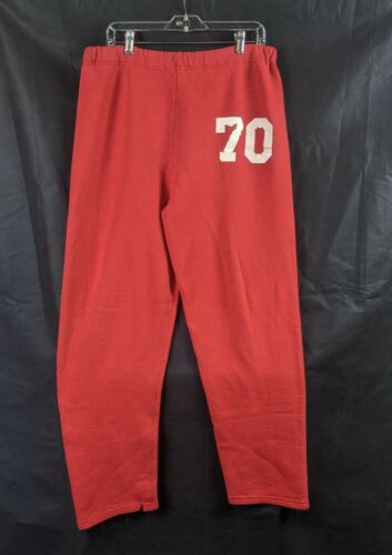 Vintage Russell Athletic Sweatpants Red #70