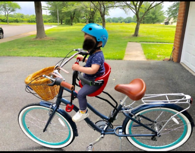 Children Bicycle Safety Seat Bike Front Baby Chair Kids Saddle Adjustable Height